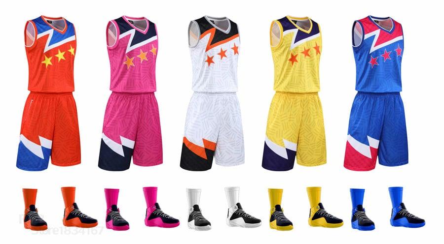 Áo bóng rổ thiết kế đổi màu tùy ý
