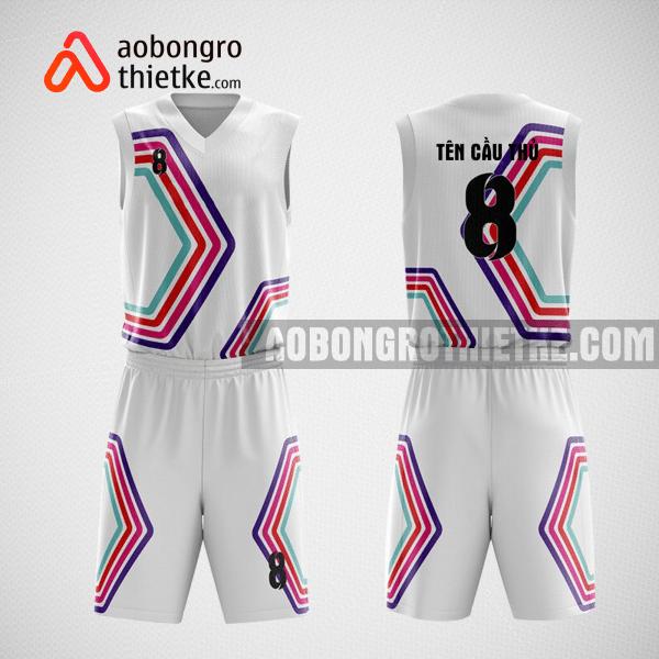 Mẫu quần áo bóng rổ thiết kế đẹp Sky team ABR6