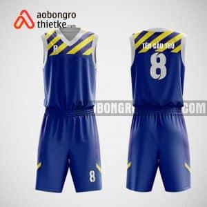 Mẫu quần áo bóng rổ thiết kế màu dương Aliba ABR11