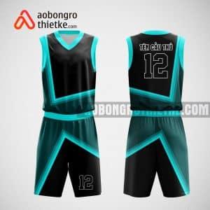 Mẫu quần áo bóng rổ thiết kế màu xanh đen Hưng Yên ABR15