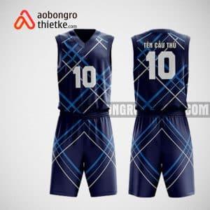 Mẫu đồng phục bóng rổ thiết kế màu tím diagonal stripes ABR53