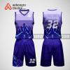 Mẫu quần áo bóng rổ thiết kế màu tím ABR201