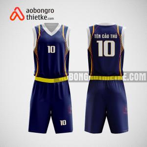 Mẫu quần áo bóng rổ thiết kế màu tím than ABR184