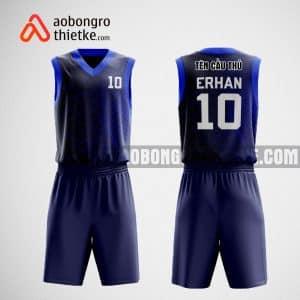 Mẫu quần áo bóng rổ thiết kế màu tím than ABR479