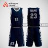 Mẫu quần áo bóng rổ thiết kế màu tím than doj iABR280