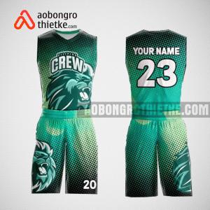 Mẫu quần áo bóng rổ thiết kế màu tím xanh đen LION ABR103