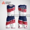 Mẫu quần áo bóng rổ thiết kế màu trắng xanh đỏ star ABR153