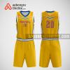 Mẫu quần áo bóng rổ thiết kế màu vàng yellow ABR250