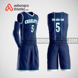 Mẫu quần áo bóng rổ thiết kế màu xanh ABR149