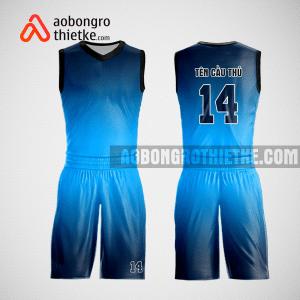 Mẫu quần áo bóng rổ thiết kế màu xanh đen ABR105