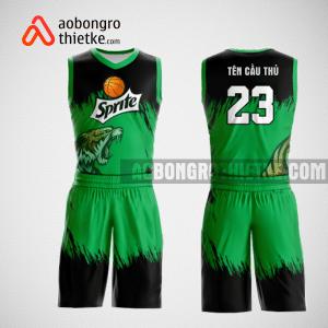 Mẫu quần áo bóng rổ thiết kế màu xanh đen tornado ABR127