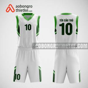Mẫu quần áo bóng rổ thiết kế màu xanh trắng ball ABR131