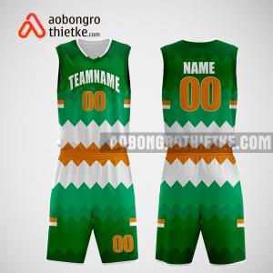 Mẫu quần áo bóng rổ thiết kế màu xanh trắng beer ABR238