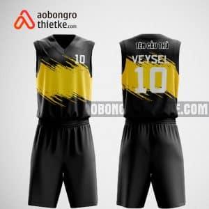 Mẫu quần áo bóng rổ thiết kế tại đen vàng black camr ABR475