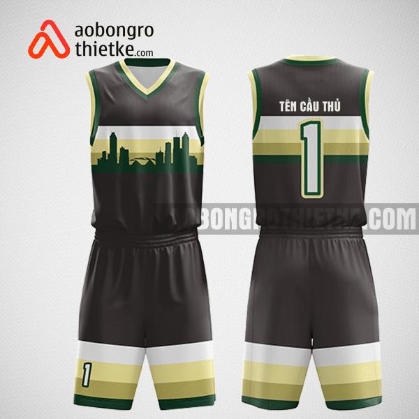 Mẫu quần áo bóng rổ thiết kế tại hà giang ABR313