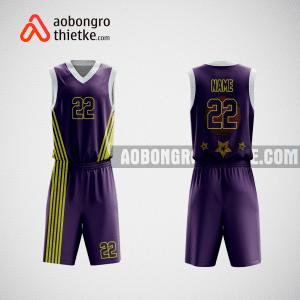 Mẫu áo bóng rổ hàng không vietjet ABR571