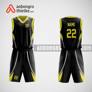 Mẫu áo bóng rổ không logo thiết kế ABR561