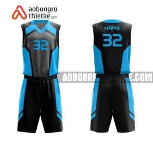 Mẫu quần áo bóng rổ Đại học Hồng Đức màu xanh mua nhiều nhất ABR660