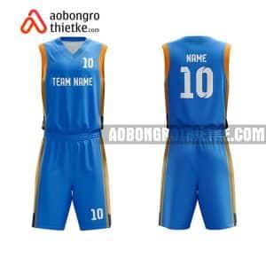 Mẫu quần áo bóng rổ Đại học Huế màu xanh gần đây ABR627
