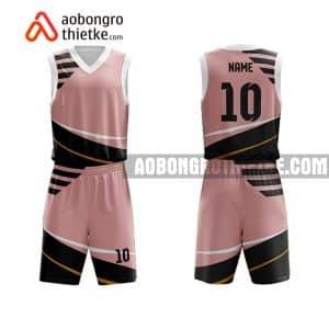 Mẫu quần áo bóng rổ Đại học Mỹ thuật TP HCM màu hồng yêu thích nhất ABR698