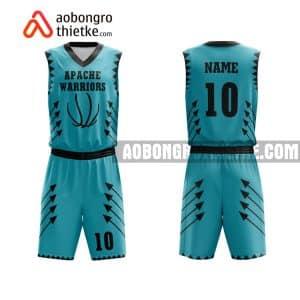 Mẫu quần áo bóng rổ Đại học Quốc tế (Đại học Quốc gia TP HCM) màu xanh yêu thích nhất ABR638