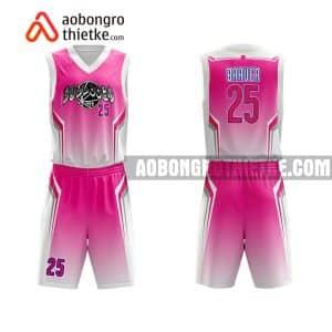 Mẫu quần áo bóng rổ Đại học Y Dược TP HCM màu hồng uy tín nhất ABR643