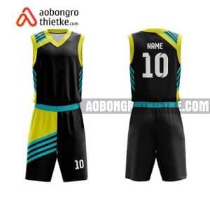 Mẫu quần áo bóng rổ THPT Chí Linh màu cam mua nhiều nhất ABR900