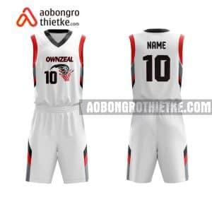 Mẫu quần áo bóng rổ THPT Chuyên Cao Bằng màu hồng lấy ngay ABR830