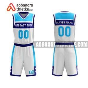 Mẫu quần áo bóng rổ THPT Chuyên Nguyễn Thị Minh Khai màu hồng mua nhiều nhất ABR885