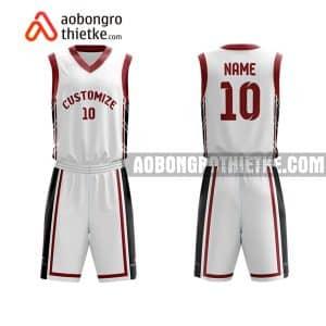 Mẫu quần áo bóng rổ THPT Chuyên Phan Ngọc Hiển màu hồng uy tín nhất ABR808