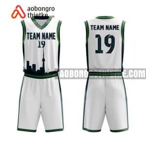 Mẫu quần áo bóng rổ THPT DL Đào Duy Từ màu hồng gần đây ABR852