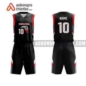 Mẫu quần áo bóng rổ THPT DL Nguyễn Khuyến màu đen tốt nhất ABR756