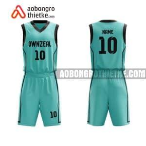 Mẫu quần áo bóng rổ THPT Đoàn Thượng màu hồng hot nhất ABR907