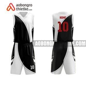 Mẫu quần áo bóng rổ THPT Dương Quảng Hàm màu đen mua nhiều nhất ABR855