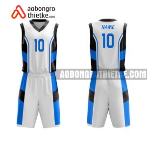 Mẫu quần áo bóng rổ THPT Duy Tiên A màu hồng rẻ nhất ABR874