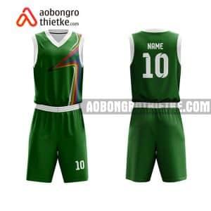 Mẫu quần áo bóng rổ THPT Huỳnh Mẫn Đạt màu xanh lạ nhất ABR813