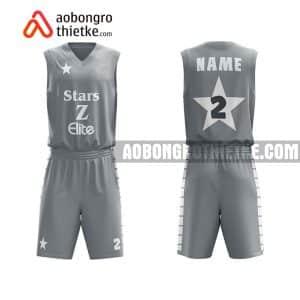 Mẫu quần áo bóng rổ THPT Lê Hồng Phong màu đen lạ nhất ABR723
