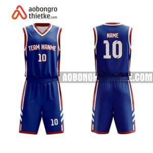 Mẫu quần áo bóng rổ THPT Nam Sách màu tím mua nhiều nhất ABR840