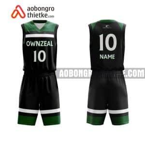 Mẫu quần áo bóng rổ THPT Nguyễn Thị Minh Khai màu đen lấy ngay ABR800