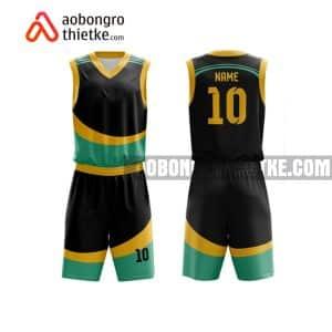 Mẫu quần áo bóng rổ THPT Thị xã Quảng Trị màu cam gần đây ABR867